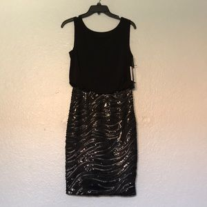 CALVIN KLEIN DATE NIGHT SEQUIN DRESS